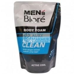 BIORE MENS Body Foam ACTIVE CLEAN Refill 450