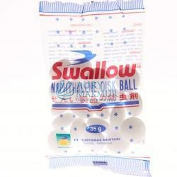 SWALLOW  contains WITH NET