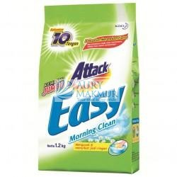 ATTACK Powder Detergent EASY MORNING CLEAN 1.2KG