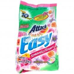 ATTACK Powder Detergent EASY ROMANTIC FLOWER 1.2KG