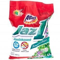 ATTACK Powder Detergent JAZ 1 DetergentT SEMERBAK CINTA 900gr