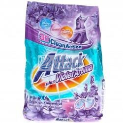 ATTACK Powder Detergent PLUS VIOLET AROMA 800gr