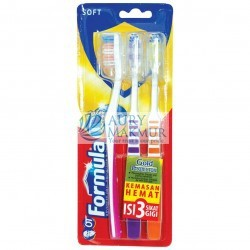 FORMULA Toothbrush GOLD PROTECTOR 3s