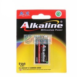 ABC Battery ALKALINE 9V