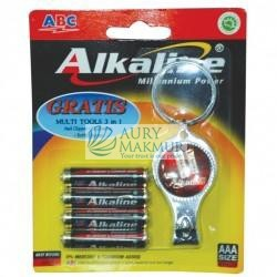 ABC Battery ALKALINE LR-03 MP AST 4 S