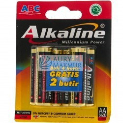 ABC Battery ALKALINE LR-06 MP AST 4 S