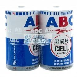 ABC Battery R-20 BLUE 2 S