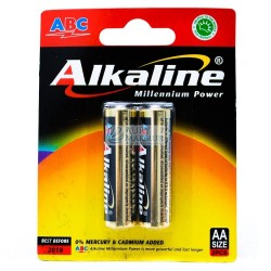 ABC Battery Alkaline AA 2pcs