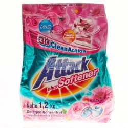 ATTACK Powder Detergent Plus Softener 1200gr