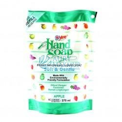YURI Handwash Soap Pouch APPLE 375ml