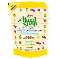YURI Handwash Soap Pouch LEMON 375 ml
