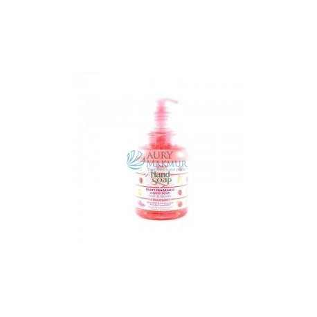 YURI Handwash Soap STRAWBERRY Bottle 410ml