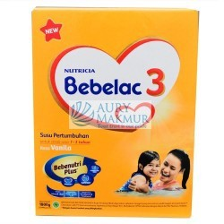 BEBELAC Milk Powder 3 VANILLA 800gr
