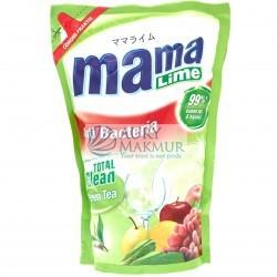 MAMA LIME Dishwashing Liquid Green Tea Refill 800ml