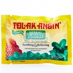 Candy TOLAK ANGIN 5x2.5gr