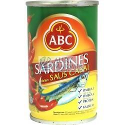 ABC SARDINES CHILI 155gr