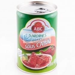 ABC SARDINES CHILI 425gr