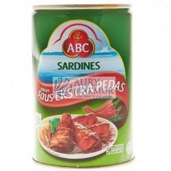ABC SARDINES EXTRA HOT 425gr