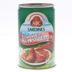 ABC SARDINES EXTRA SPICY 155gr
