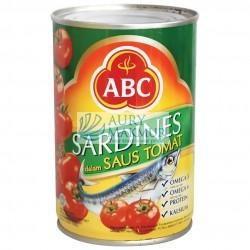 ABC SARDINES TOMAT 425gr